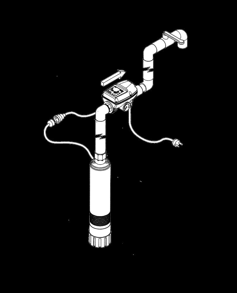 T.I.P BRIO 2000-M Elektronisches Steuersystem Pumpe Pumpensteuerung Pumpen