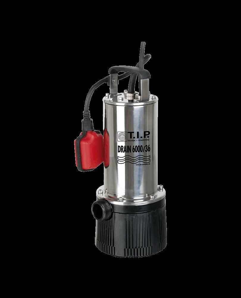 Druckpumpe DRAIN 6000//36 Tauchdruckpumpe Pumpe T.I.P Tauchpumpe