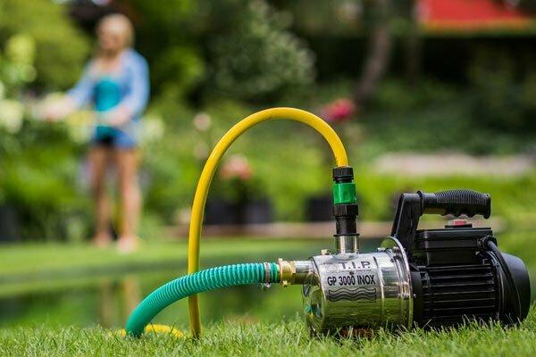 T.I.P. garden pump watering