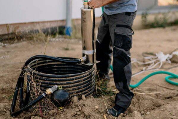 T.I.P. cistern pump watering